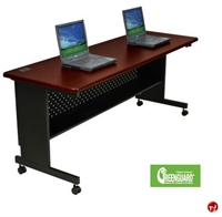 "Picture of 60"" x 24"" Mobile Folding Training Table"