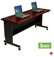 "Picture of 72"" x 24"" Mobile Folding Training Table"