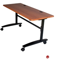 "Picture of 24"" x 72"" Mobile Folding Training Table"