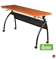 "Picture of 20"" x 72"" Mobile Flipper Training Table"