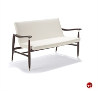 Picture of David Edward Hutton Contemporary Reception Lounge 2 Seat Loveseat Chair