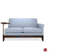 Picture of David Edward Elise Reception Lounge Lobby 2 Seat Loveseat Tablet Sofa