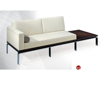 Picture of Benchmark Anson 9215 Contemporary Lobby Chaise Sofa with End Table