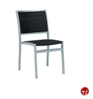 Picture of Benchmark Baja 1111, Outdoor Dining Stackable Woven Armless Chair