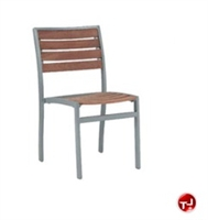 Picture of Benchmark Baja 1113, Outdoor Dining Stackable Teak Armless Chair