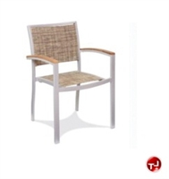 Picture of Benchmark Baja 1114, Outdoor Dining Stackable Arm Chair