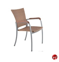 Picture of Benchmark Baja 1117, Outdoor Dining Stackable Armless Chair