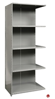 "Picture of HOD 5 Shelf Steel, Add-On 48"" x 12"" Steel Closed Shelving"