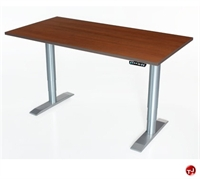 "Picture of POP 24"" x 36"" Height Adjustable Computer Desk Workstation, ADA"