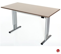 """Picture of POP 24"""" x 48"""" Power Height Adjustable Training Table, ADA"""