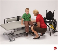 "Picture of POP 72"" Mobile Adjustable Changer Therapy Table"