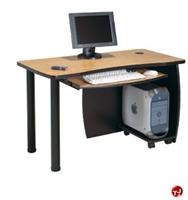 "Picture of QUARTZ 24"" X 48"" Computer Training Table"