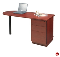 "Picture of QUARTZ 24"" X 48"" D-Top Computer Training Table"