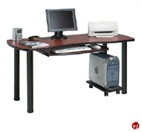"Picture of QUARTZ 24"" X 48"" Computer Training Table, CPU Dolly"