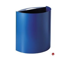 Picture of Magnuson Axiane 4 Gallon Half Round Waste Bin Receptacle