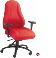 Picture of Milo 24/7 Mid Back Heavy Duty Office Swivel Chair