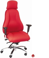 Picture of Milo 24/7 High Back Heavy Duty Office Swivel Chair,Headrest