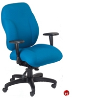 Picture of Milo 24/7 Mid Back Heavy Duty Ergonomic Office Chair