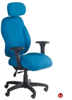 Picture of Milo 24/7 High Back Heavy Duty Ergonomic Office Chair, Headrest