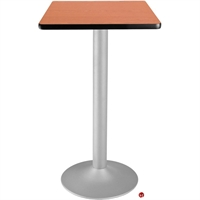 "Picture of 24"" Square Cafeteria Dining Bar Height Table"