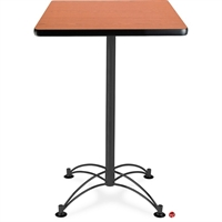 "Picture of 24"" Square Cafeteria Dining Table"