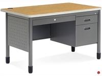 """Picture of 30"""" x 48"""" Steel Teacher's Desk"""