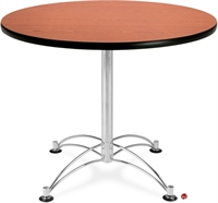 "Picture of 36"" Round Cafeteria Meeting Table"