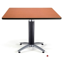"Picture of 36"" Square Cafeteria Meeting Table"