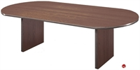 "Picture of 36"" x 72"" Racetrack Laminate Conference Table"