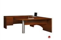 "Picture of 72"" U Shape Laminate D Top Office Desk Workstation"