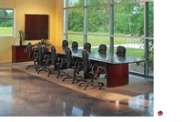 Picture of Contemporary Veneer 18' Rectangular Conference Table