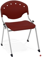 Picture of Guest Side Reception Armless Plastic Stack Chair
