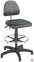 Picture of Medical Plastic Swivel Footring Stool Chair