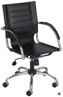 Picture of Mid Back Office Office Leather Chair