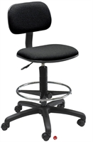 Picture of Plastic Armless Drafting Footring Stool Chair