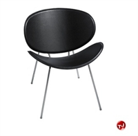 Picture of Rowdy Contemporary Guest Side Reception Armless Chair