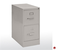 "Picture of 2 Drawer Letter Steel Vertical File, 15"" x 22"" x 26"""
