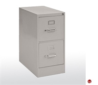 "Picture of 2 Drawer Letter Steel Vertical File, 15"" x 26"" x 29"""