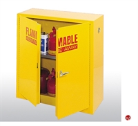 "Picture of Compact Flammable Counter Height Safety Storage Cabinet, 43"" x 18"" x 44"""