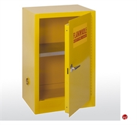 "Picture of Compact Flammable Safety Storage Cabinet, 23"" x 18"" x 35"""