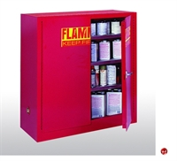 "Picture of Compact Flammable Safety Storage Cabinet, 43"" x 18"" x 44"""