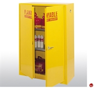 "Picture of Compact Flammable Safety Storage Cabinet, 43"" x 18"" x 65"""