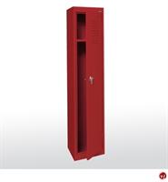 """Picture of Welded Steel Single Tier Storage Locker, 15"""" x 18"""" x 66"""""""