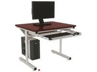 "Picture of Sperco 18"" x 48"" Computer Training Table"