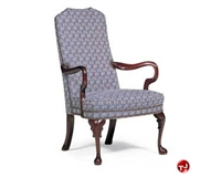 Picture of ST Timothy S-606, Traditional Guest  Side Dining High Back Arm Chair