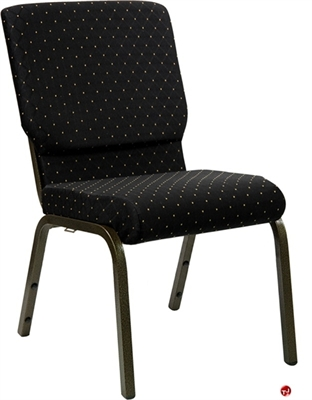 """Picture of 21"""" Extra Wide Armless Stack Chair"""