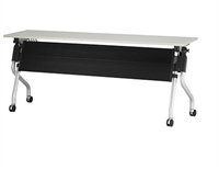 "Picture of TRIA 24"" x 55"" Mobile Nesting Training Table, Modesty Panel"