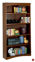 "Picture of 36"" Veneer Open 5 Shelf Bookcase"