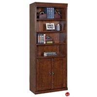 Picture of 5 Shelf Open Bookcase with Doors