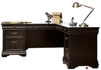 "Picture of 72"" L Shape Veneer Office Desk Workstation"